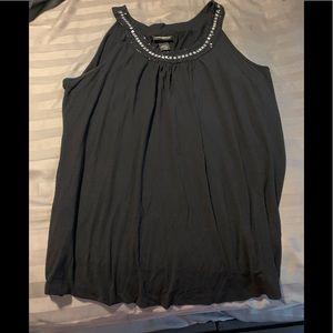 Beaded Layne Bryant sleeveless shirt